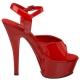 Sandale rouge JULIET-209