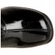 Bottes Noires Talon Large RETRO-300