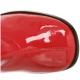 Bottes Rouges Vernies Talon Carré GOGO-300