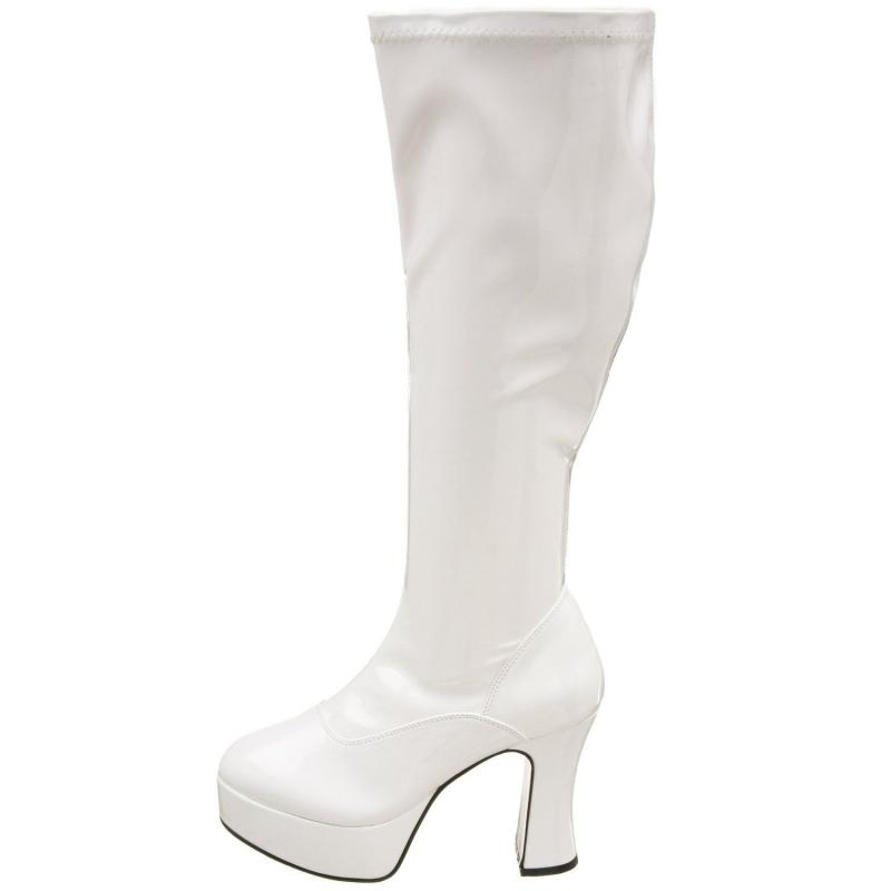 chaussure large la botte mollet large un soulier blanc. Black Bedroom Furniture Sets. Home Design Ideas