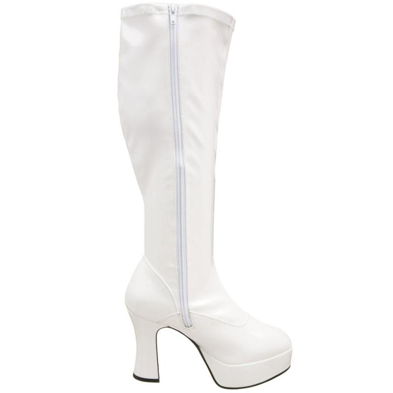 chaussure large la botte mollet large un soulier blanc talon. Black Bedroom Furniture Sets. Home Design Ideas