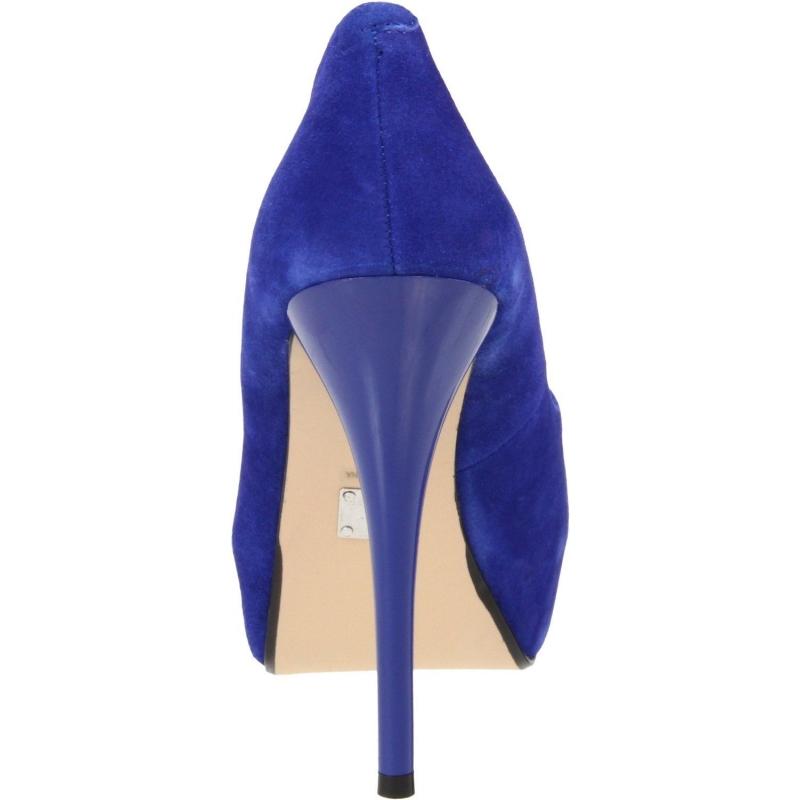soulier bleu escarpin mode talon haut plateforme int gr e en boutique. Black Bedroom Furniture Sets. Home Design Ideas