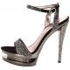 Sandales Haute Couture Bronze Double Plateaux FASCINATE-631DM