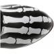 Bottes Fluorescentes Originales Noires Talon Haut X-RAY-220