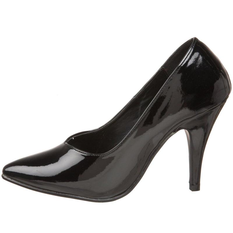 escarpins noirs vernis sp ciaux pieds larges. Black Bedroom Furniture Sets. Home Design Ideas