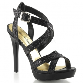 Chaussures de soirée sandales à brides noires talon fin lumina-21