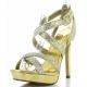 Chaussures dorées nu-pieds à lanières talon haut lumina-21