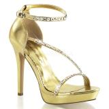 Sandales dorées à brides lumina-26