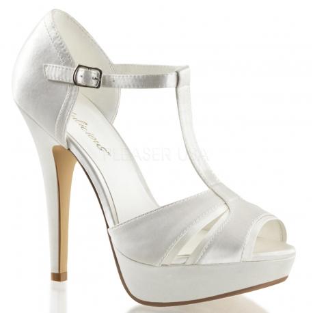 Chaussures de mariage sandales coloris ivoire talon haut lolita-20