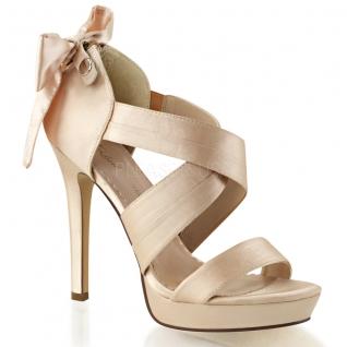 Sandales de soirée en satin champagne lumina-29