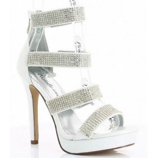Chaussures à strass sandales argentées à brides talon fin lumina-30