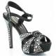 Chaussures de soirée sandales noires à strass talon haut lumina-23