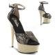 Sandale habillée en satin champagne talon haut DELIGHT-662-2LC