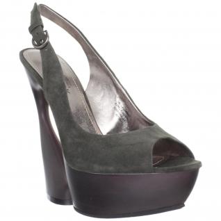 Sandales de Luxe Microfibre Vert SWAN-654