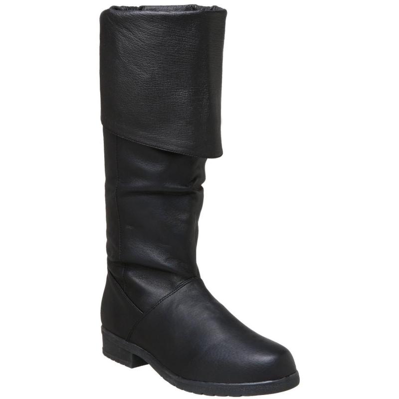 botte biker cuir noir chaussures modes hommes. Black Bedroom Furniture Sets. Home Design Ideas