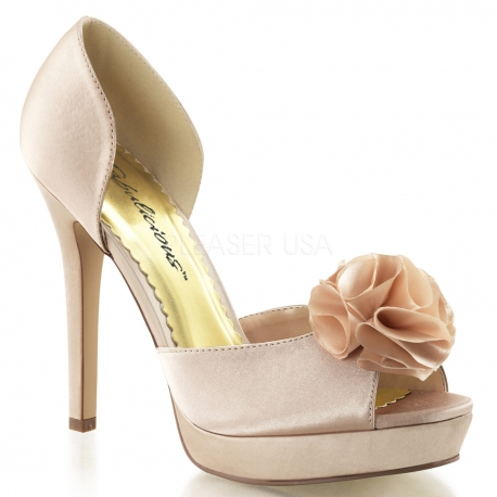 Sandale nu-pied satin champagne talon haut lumina-34