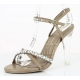 Chaussures habillées sandales coloris caramel talon haut clearly-15