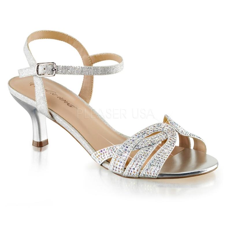 Petit Femmes Argentees Femmes Chaussures Argentees Talon rdCxoeB