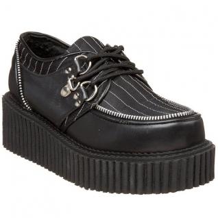 Chaussures punks originales à lacet creeper-113