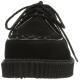 Chaussure rockabilly coloris noir creeper-602s