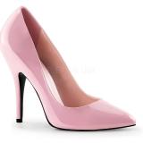 Chaussures escarpins roses vernis talon aiguille SEDUCE-420
