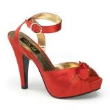 Chaussures en satin rouge sandales à bride cheville talon haut bettie-04