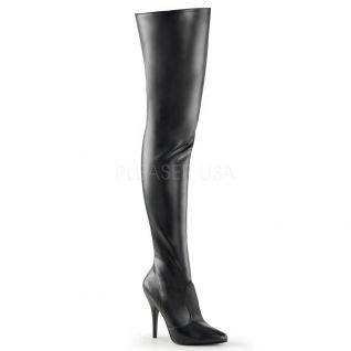 Chaussures sexy cuissardes noires talon aiguille seduce-3010
