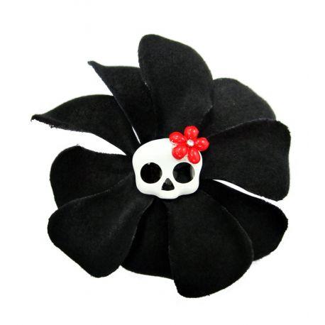Pince noire tête de mort