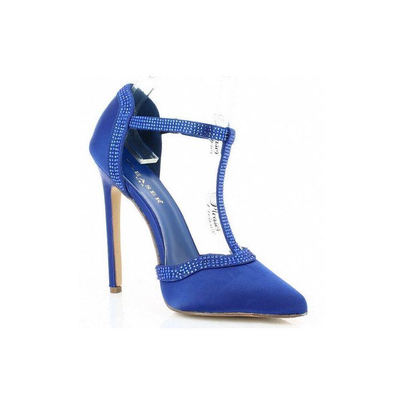chaussures mode les escarpins de l 39 t couleur bleu roi. Black Bedroom Furniture Sets. Home Design Ideas