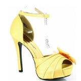 Sandales en satin jaune talon haut lumina-36