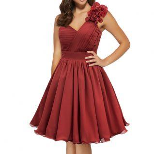 Robe de soirée rouge vintage