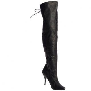 Cuissardes noires imitation cuir legend-8899