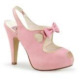Nu-pieds Pin Up coloris rose