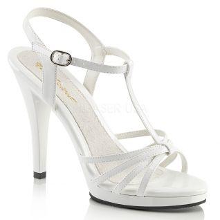 Nu-pieds blancs vernis flair-420