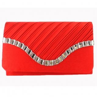 Pochette habillée rouge