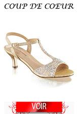 Sandale or pour vos fêtes