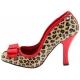 Escarpin léopard et rouge vernis talon aiguille SMITTEN-01
