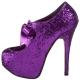 Escarpin violet TEEZE-10G