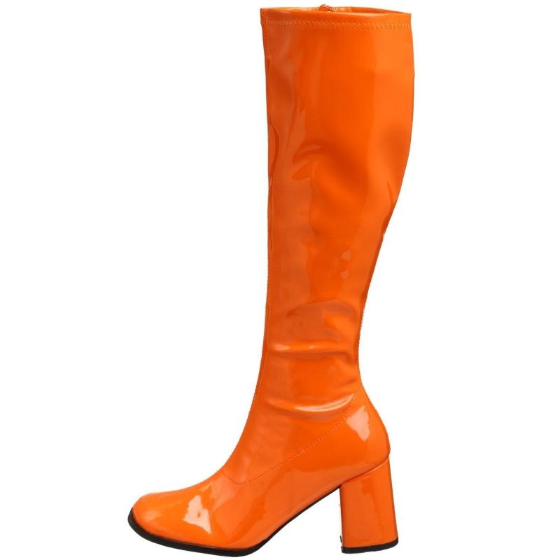 livraison gratuite 365b0 c987a Trouver des bottes coloris orange vernis à talon