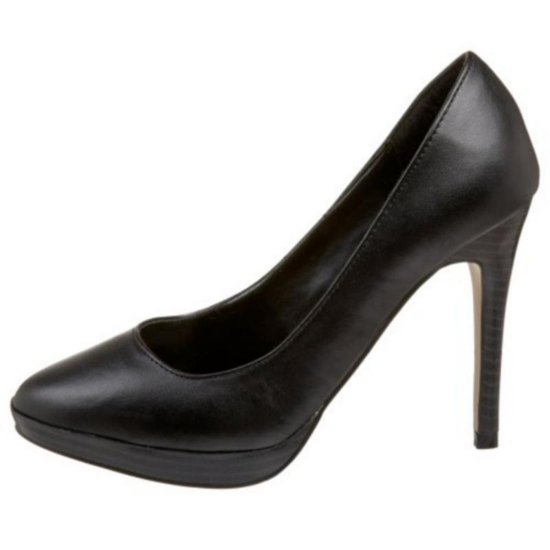 ... Chaussures escarpins bout rond coloris noir mat talon haut bliss-30  Escarpin  noir mat Bliss-30 ... 45b7570bd629