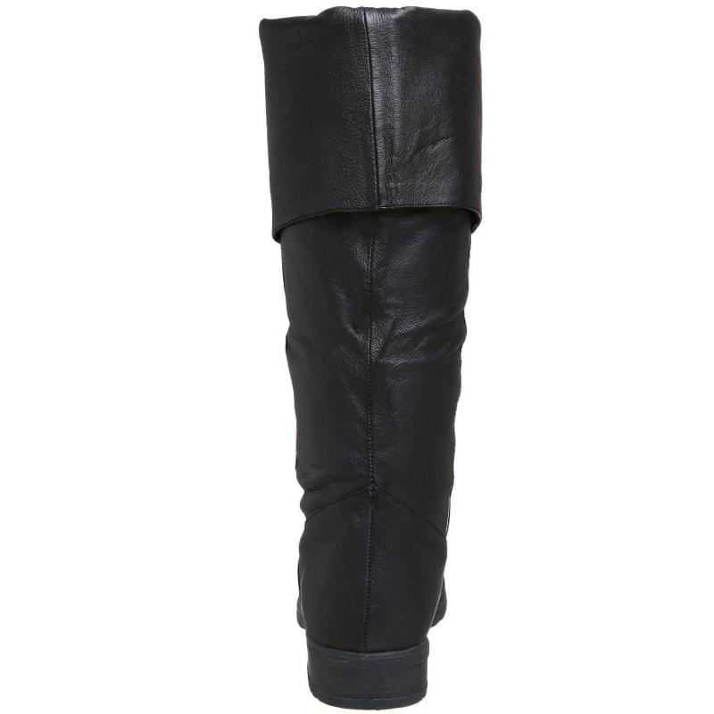 Modes Hommes Noir Chaussures Biker Cuir Botte vCwqU44