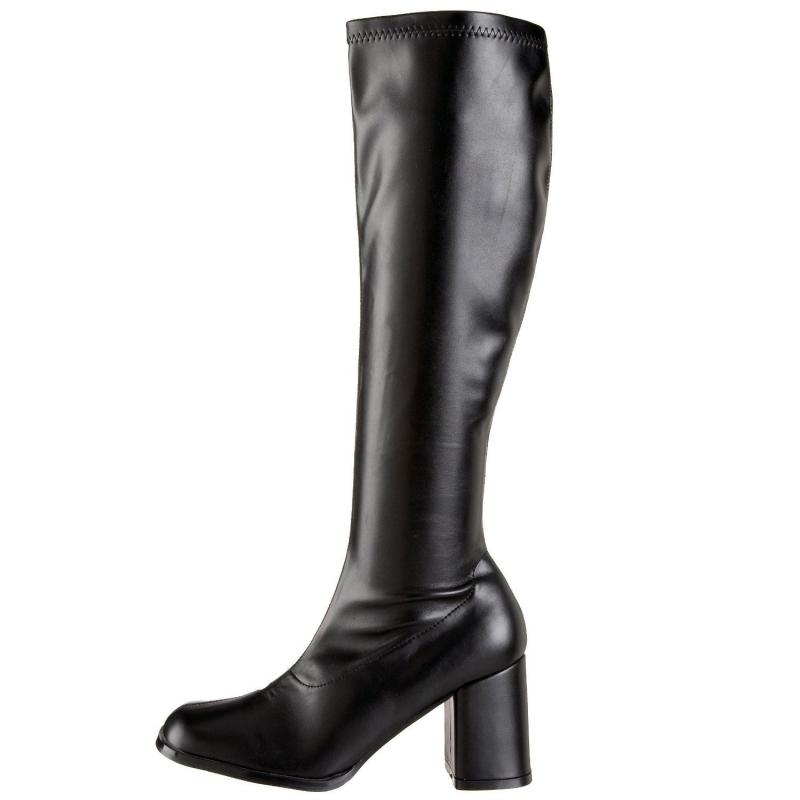 Acheter des bottes noirs style rétro grande taille 4f7ef92703e9