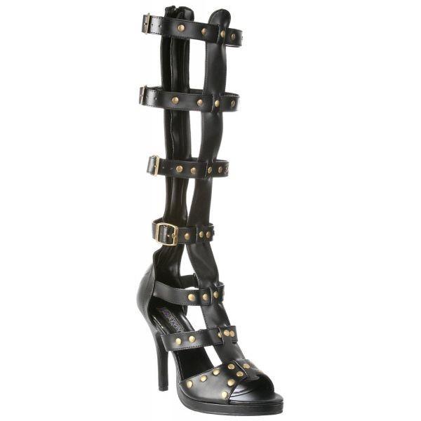 c916eb7db3a Chaussures Dominatrice cloutée talon aiguille