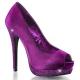Escarpins Peep Toe coloris violet