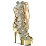 Chaussures bottines haute couture dorées talon plateau delight-600-30