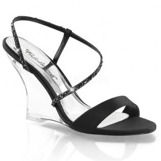 Sandales noires fines brides