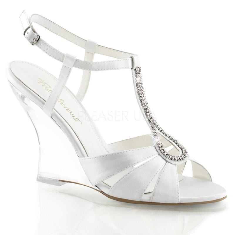 Chaussures compensées nu,pieds de mariage lovely,420