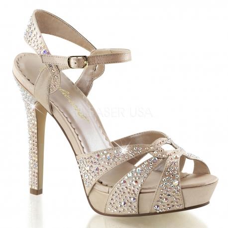 Chaussures de soirée sandales beiges à strass talon haut lumina-23
