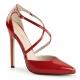Escarpins d'Orsay coloris rouge vernis sexy-26