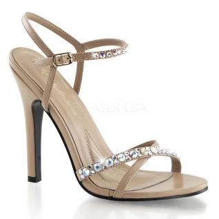 Sandales à brides coloris taupe talon fin melody-15